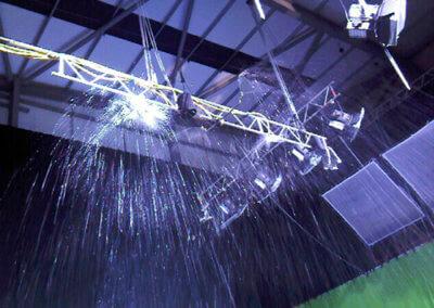 Rain stage truss