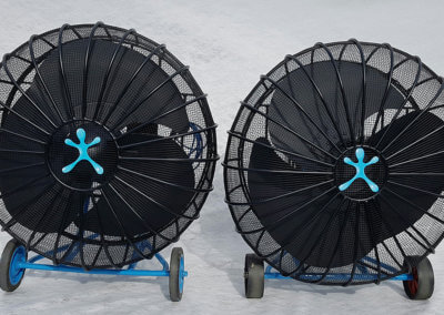 SNOWboy 48 Silent Fan x 2 - front